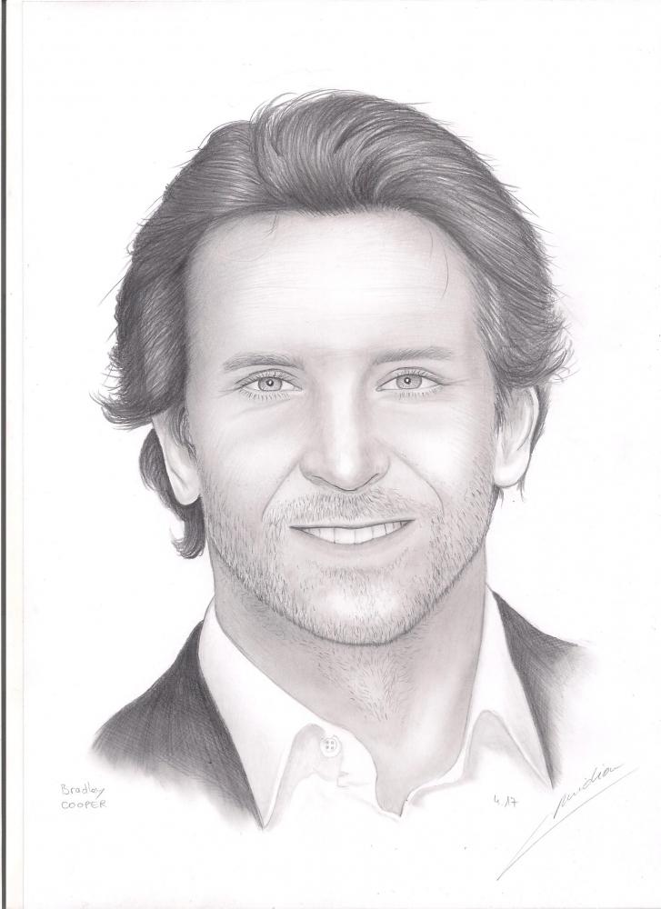 Bradley Cooper by VincentMeridian